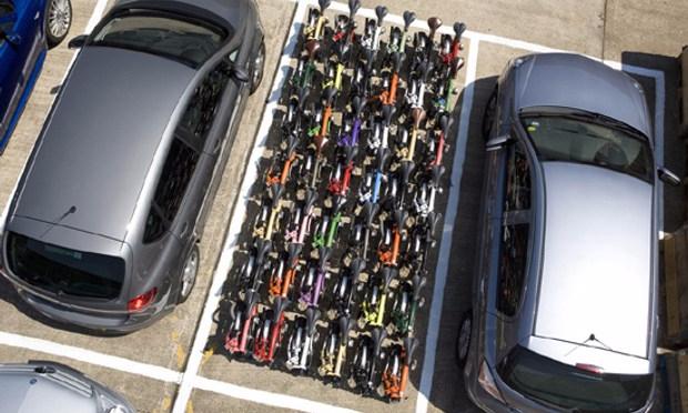 Bicicleta vs Automóvil