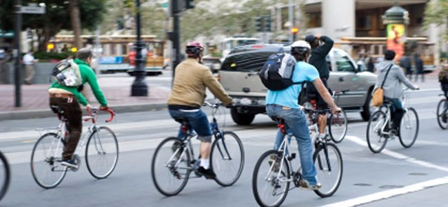 El ciclismo urbano no es unamoda