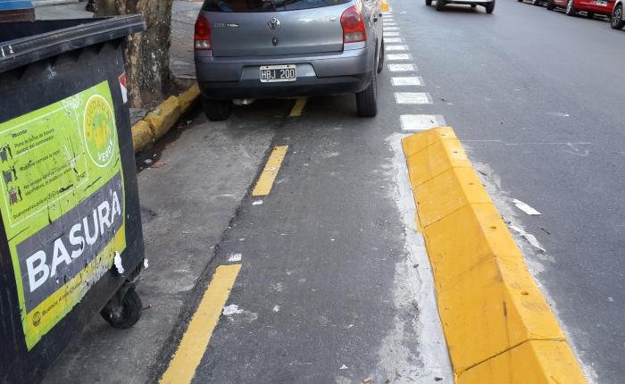 Las ciclovías porteñas: el basurero de laciudad